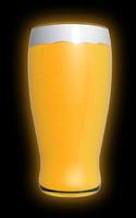 3d model pint beer